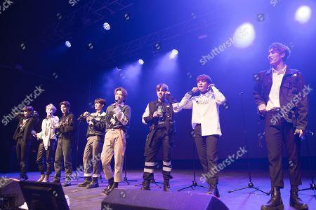 Ateez - Kim Hong-joong, Park Seong-hwa, Jeong Yun-ho, Kang Yeo-sang, Choi San, Song Min-gi, Jung Woo-young, Choi Jong-ho