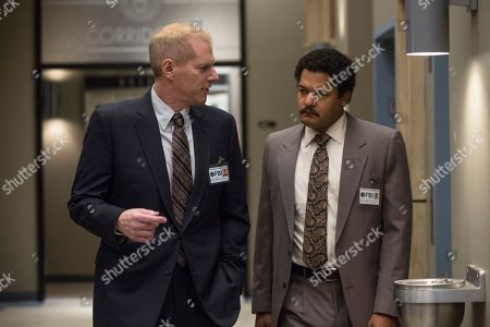 Noah Emmerich as Stan Beeman and Brandon J Dirden as Dennis Aderholt