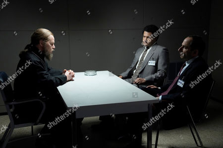 Alex Kuznetsov as Father Victor, Brandon J Dirden as Dennis Aderholt and Peter Jacobson as Agent Wolfe