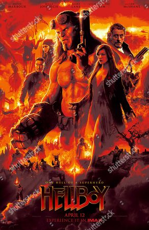 Editorial photo of 'Hellboy' Film - 2019