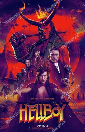 Editorial image of 'Hellboy' Film - 2019