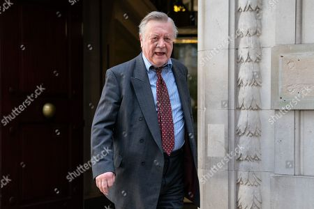 Kenneth Clarke MP leaving after appearing on a radio interview. MPs voted last night by a majority of one to extend article 50. The bill will be passed to the House of Lords today.