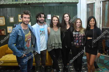 Ignacia Allamand, Diana Vizcaya, Rodrigo Guirao, Paulina Davila, Pablo Lyle, Silvia Gomez, David Angulo