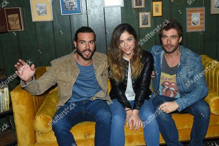 Stock Image of Rodrigo Guirao, Paulina Davila, Pablo Lyle