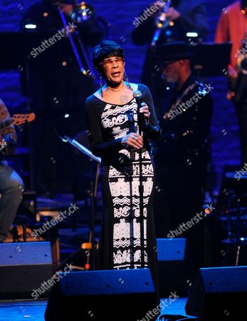 "Bettye Lavette at the Jazz Foundation of America's 17th annual ""A Great Night In Harlem"" gala concert at The Apollo Theater, in New York"