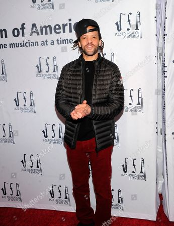 """Savion Glover at the Jazz Foundation of America's 17th annual """"A Great Night In Harlem"""" gala concert at The Apollo Theater, in New York"""