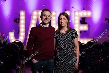 Hannah and Adam Cohen, Jake's Parents.