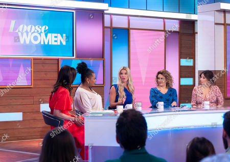 Andrea McLean, Brenda Edwards, Christine McGuinness, Nadia Sawalha and Stacey Solomon