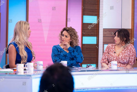 Christine McGuinness, Nadia Sawalha and Stacey Solomon