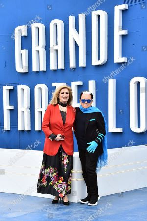 Editorial image of 'Grande Fratello' TV show photocall, Rome, Italy - 05 Apr 2019