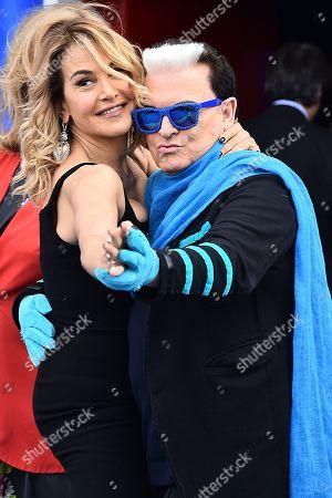 Barbara D'Urso and Cristiano Malgioglio