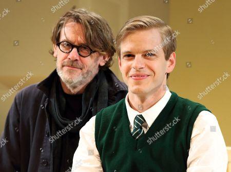 Nigel Slater and Giles Cooper who plays Nigel Slater