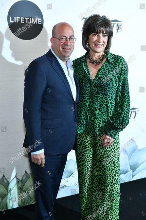 Jeff Zucker and Christiane Amanpour