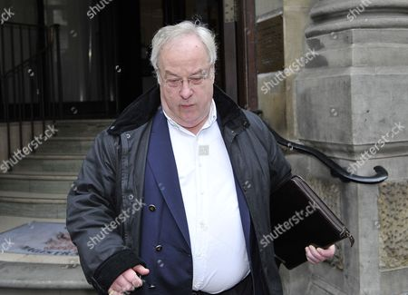 Terry Freeman, a city trader suspected of running a Ponzi fraud, leaving the City of London Magistrate's Court