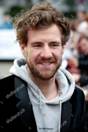 Italian-Canadian comedian living in Germany Luke Mockridge arrives on the red carpet of the 55th Grimme Award ceremony in Marl, Germany, 05 April 2019. The Grimme-Preis is a German television award.
