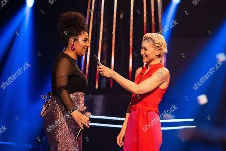 Ruti Olajugbagbe and Emma Willis