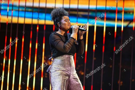 Editorial image of 'The Voice UK' TV Show, Series 3, Episode 14, London, UK - 06 Apr 2019