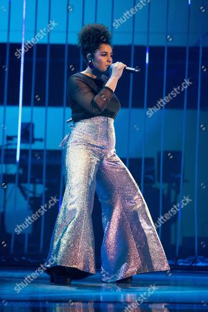 Editorial picture of 'The Voice UK' TV Show, Series 3, Episode 14, London, UK - 06 Apr 2019