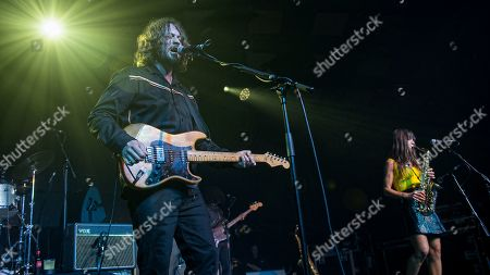 Stock Image of The Zutons - David McCabe, Russell Pritchard, Abi Harding