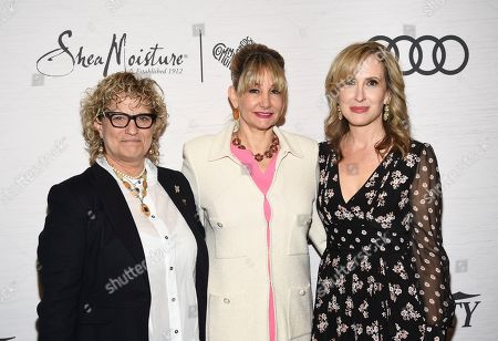 Michelle Sobrino-Stearns, Dea Lawrence, Claudia Eller. Variety publisher Michelle Sobrino-Stearns, left, actress Dea Lawrence and co-editor-in-chief of Variety Claudia Eller attends Variety's Power of Women: New York presented by Lifetime at Cipriani 42nd Street, in New York