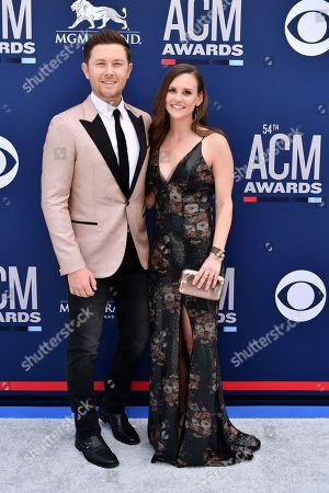 Scott McCreery and wife Gabi McCreery