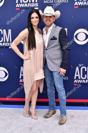 Stock Image of Kate Moore and Justin Moore