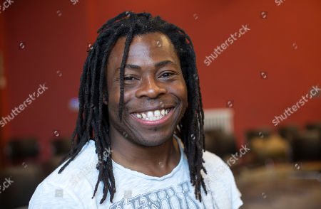 Stock Picture of Paralympian and TV presenter Ade Adepitan.