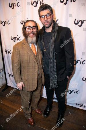 Andy Nyman (Author/Director) and Simon Lipkin (Professor Goodman)