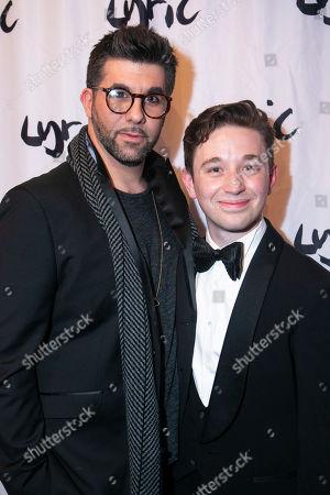 Simon Lipkin (Professor Goodman) and Preston Nyman (Simon Rifkind)