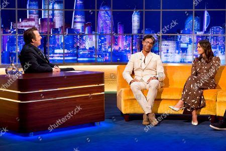 Jonathan Ross and Carlos Acosta and Jenna Coleman
