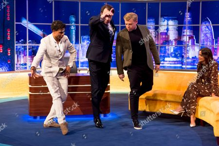 Carlos Acosta, Jonathan Ross, Rob Beckett and Jenna Coleman
