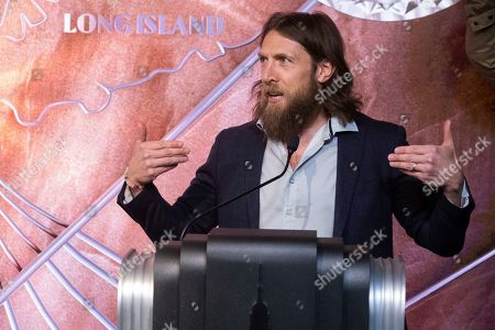 Stock Picture of WWE Superstar Daniel Bryan visits the Empire State Building to promote WrestleMania 35, in New York