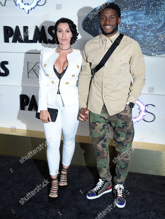 Reggie Bush and wife Lilit Avagyan