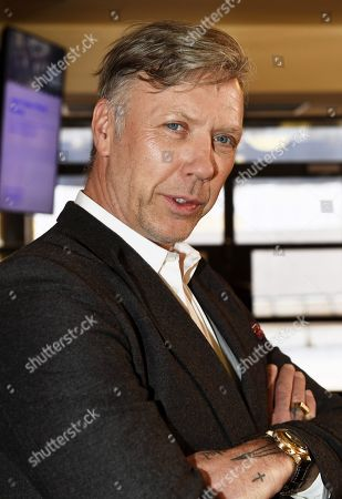 Swedish actor Mikael Persbrandt at the press conference of TV series 'Invisible Heroes'.
