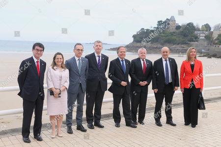Editorial photo of G7, Dinard, France - 06 Apr 2019