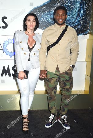 Lilit Avagyan and Reggie Bush