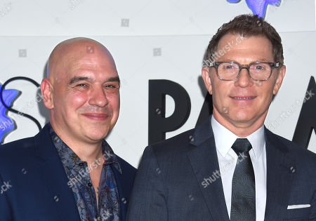 Stock Picture of Michael Symon and Bobby Flay
