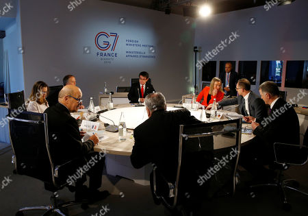 Editorial picture of Foreign ministers of G7 nations meeting in Dinard, France - 06 Apr 2019