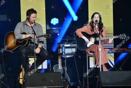 Stock Picture of Chase McGill and Lori McKenna