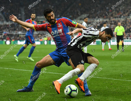 Editorial photo of Newcastle United v Crystal Palace, Premier League, Football, St. James? Park, Newcastle upon Tyne, UK - 06 Apr 2019
