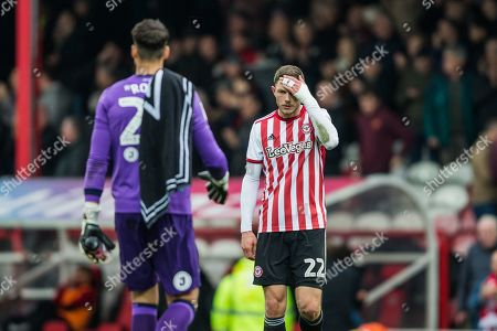Henrik Dalsgaard (Brentford) following the EFL Sky Bet Championship match between Brentford and Derby County at Griffin Park, London