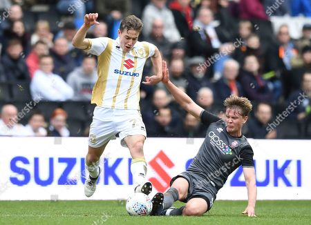 Editorial image of MK Dons v Lincoln City, EFL Sky Bet League Two, Football, Stadium MK, Milton Keynes, UK - 06 Apr 2019