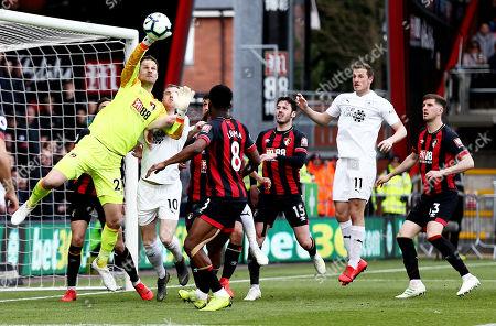 Editorial photo of AFC Bournemouth v Burnley, Premier League, Football, Vitality Stadium, Bournemouth, UK - 06 Apr 2019