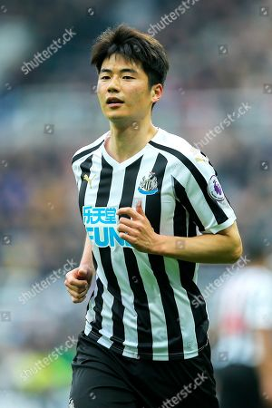 Ki Sung-Yueng (#4) of Newcastle United during the Premier League match between Newcastle United and Crystal Palace at St. James's Park, Newcastle