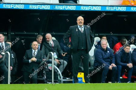 Newcastle United manager Rafael Benitez during the Premier League match between Newcastle United and Crystal Palace at St. James's Park, Newcastle