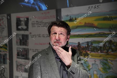 Polish actor Robert Wieckiewicz attends the 'Wajda' exhibition at the National Museum in Krakow, Poland, 05 April 2019 (issued 06 April 2019). The exhibition presents creative achievements of one of the most famous Polish film directors Andrzej Wajda.