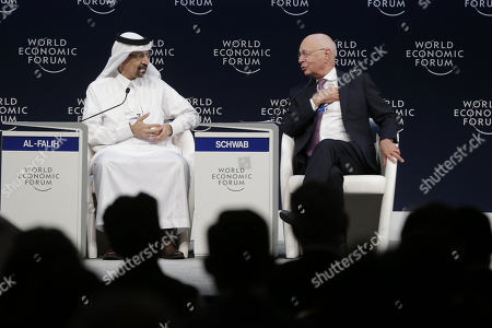 Editorial image of 17th World Economic Forum on the Middle East and North Africa, Amman, Kazakhstan - 06 Apr 2019