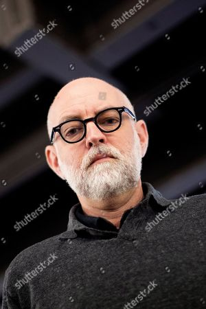 US strip cartoonist Daniel Clowes poses for the media during the 37th International Comic Fair of Barcelona, in Barcelona, Spain, 06 April 2019. The event featuring exhibitions, master classes and an awards ceremony will gather professionals of the comic sector from 05 to 07 April.