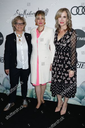 Claudia Eller (Co-Editor-In-Chief of Variety), Dea Lawrence and Michelle Sobrino-Stearns (Publisher, Variety)