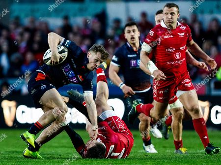 Editorial picture of Guinness PRO14, Parc y Scarlets, Llanelli, Wales  - 06 Apr 2019
